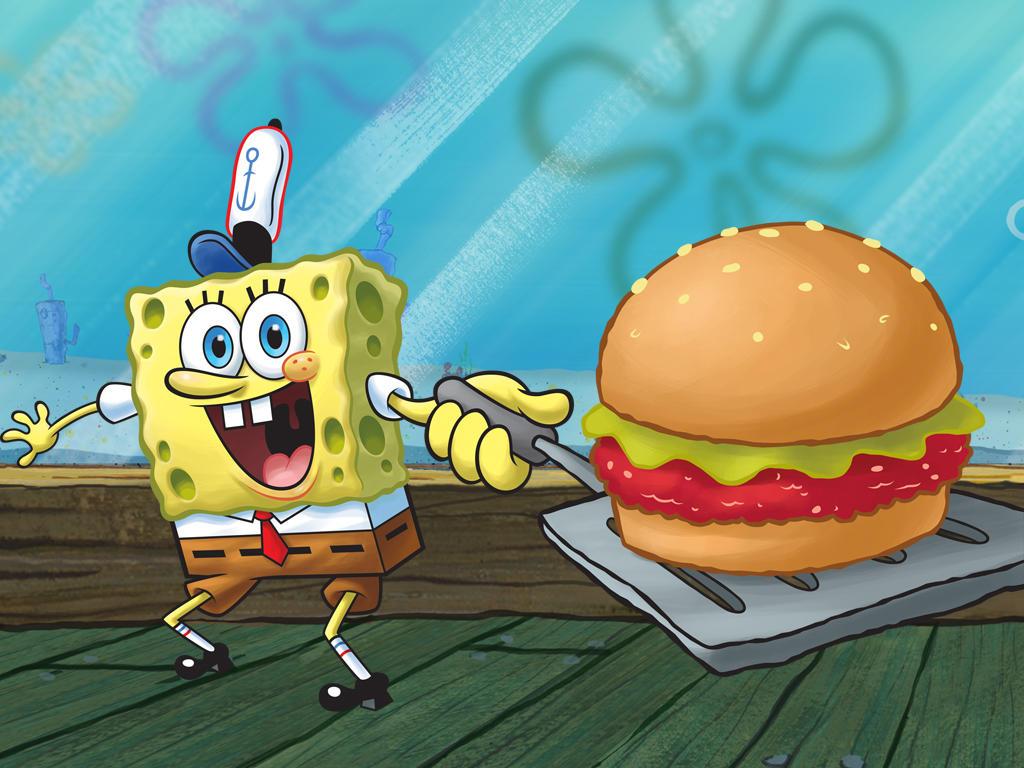 Sponge Bob Vegan
