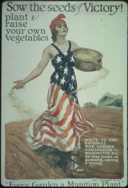 For a time, the scarcity of WWI normalized vegetarian and low-meat eating